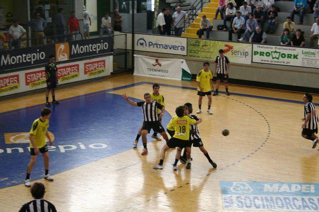 Fase Final CN 1ª Divisão Juvenis Masculinos - ABC : SC Espinho 10