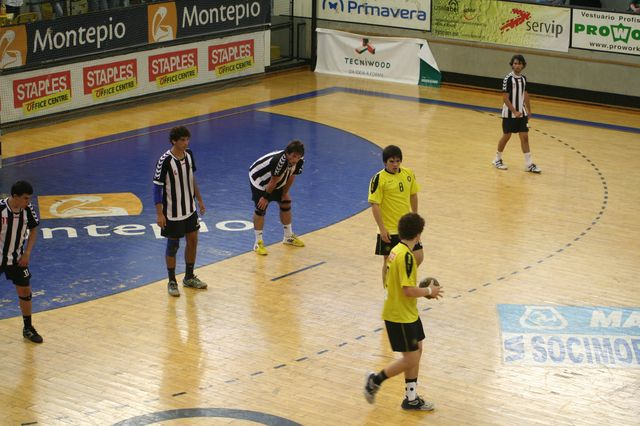 Fase Final CN 1ª Divisão Juvenis Masculinos - ABC : SC Espinho 27