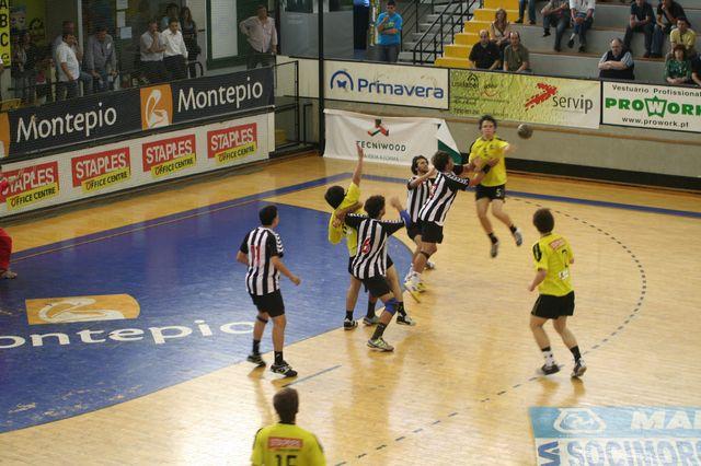 Fase Final CN 1ª Divisão Juvenis Masculinos - ABC : SC Espinho 14