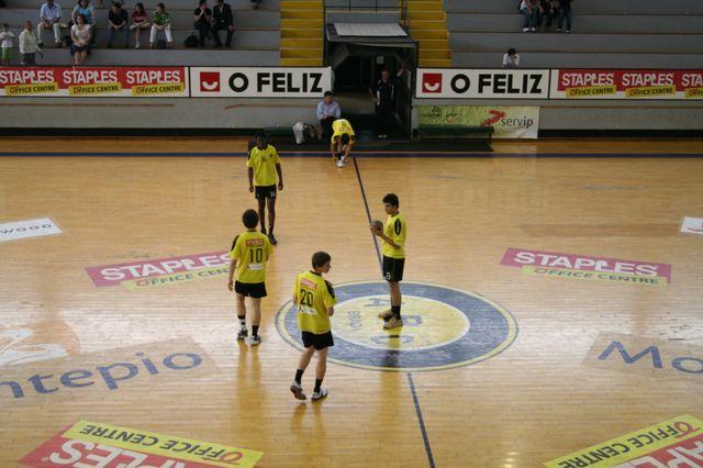 Fase Final CN 1ª Divisão Juvenis Masculinos - ABC : SC Espinho 3
