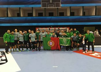 Sporting CP - Velux EHF Champions League - foto: facebook SCP
