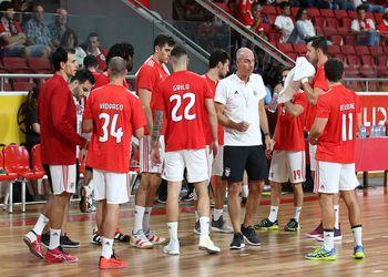 SL Benfica : FH Hafnarfjordur - EHF Cup Masculina