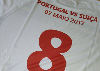 Camisola Portugal x Suíça 2017