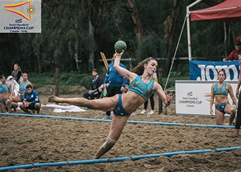 Beach Handball Champions Cup 2018 - GRD Leça apostaganha.com - Joana Resende - Foto: Márcio Menino