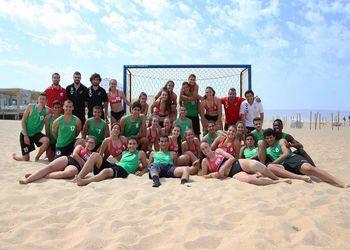Selecções Nacionais de Andebol de Praia Sub17