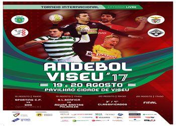 Cartaz Torneio Internacional de Viseu 2017