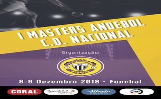 Cartaz 1º Masters Handball CD Nacional