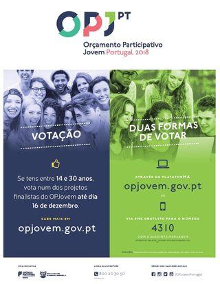 Orçamento Participativo Jovem - voto