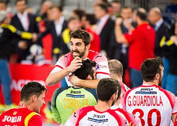 França : Espanha - Campeonato da Europa 2018 - foto: Nebojsa Tejic