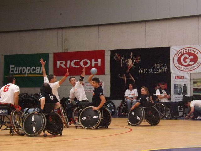 4ª Concentração de Andebol em Cadeira de Rodas de 4 e de 7 - Braga, 04.05.13