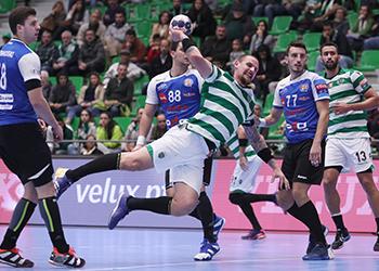 Velux EHF Champions League: Sporting CP x HC Metalurg - 10ª Jornada