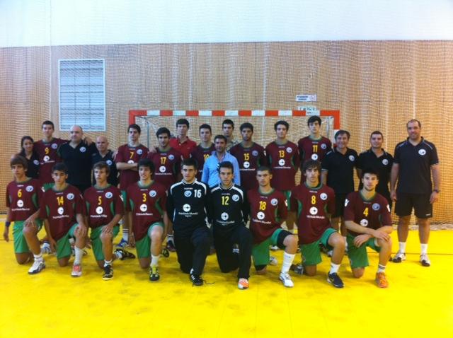 Sel. Juniores C Masculinos de Portugal - Taça Ibérica