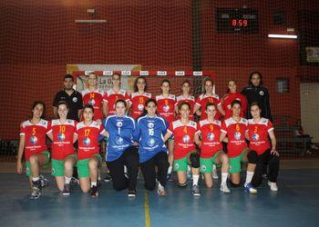Selecção Nacional Junior A feminina 2010-11