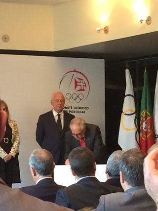 José Manuel Constantino - tomada posse nos Órgãos Sociais do Comité Olímpico de Portugal