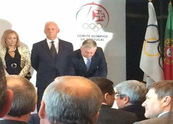 Ulisses Pereira toma posse nos Órgãos Sociais do Comité Olímpico de Portugal