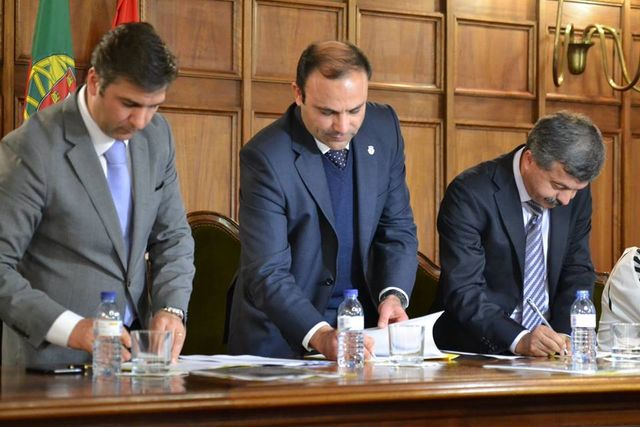 Cerimónia de assinatura do protocolo e apresentação do Torneio 4 Nações de Andebol – Sub19 Femininos