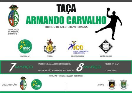 Cartaz Taça Armando Carvalho