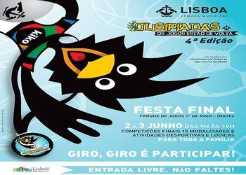 Cartaz da Fase Final da 4º Edição das Olisipíadas