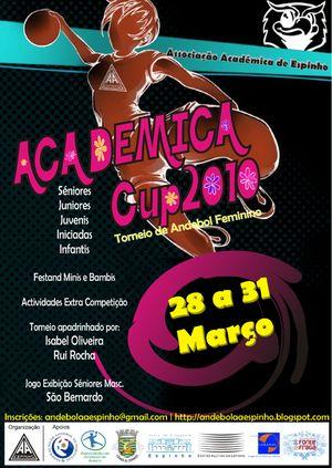 Cartaz Académica Cup 2010
