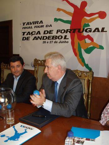 Sorteio das meias-finais da Taça de Portugal - Salão Nobre CM Tavira