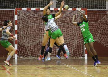 CA Leça - SIR 1º Maio/ADA CJ Barros - Campeonato 1ª Divisão Feminina - foto: António Oliveira