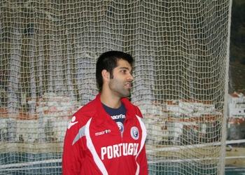 Ricardo Moreira - treino seleção nacional sénior -Nazaré 2013