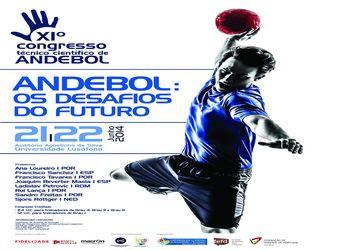 Cartaz 11 º Congresso Técnico Científico de Andebol