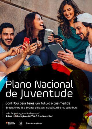 Cartaz Plano Nacional de Juventude