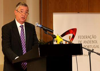Ulisses Pereira - presidente da Federação - foto José Lorvão