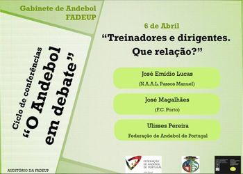 """3ª sessão do ciclo de conferências """"O Andebol em debate"""""""