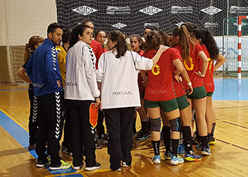 Torneio GarciCup 2018: Seleção Sub-18 Feminina x Maiastars (1ª Jornada)