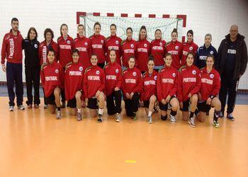 Selecção Nacional Junior A feminina 2012-13