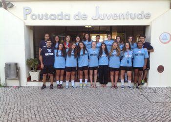 Selecção Nacional Juniores B femininas - Agosto 2013