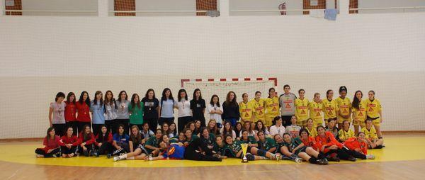 CD Bartolomeu Perestrelo, Colégio Gaia, Juventude D. Lis e Maiastars - Fase Final do Campeonato Nacional de Juniores Femininos 2009-10