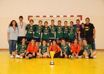 CD Bartolomeu Perestrelo - Campeão Nacional de Juniores Femininos 2009-10