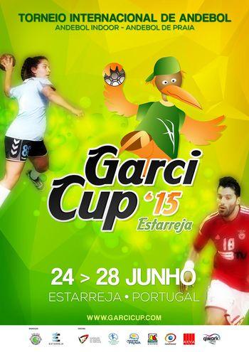 Cartaz Torneio Garcicup 2015