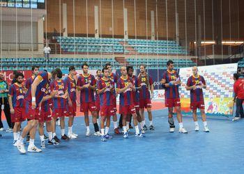 FC Barcelona - vencedor do Torneio Ibérico (foto: Luis Xavier)