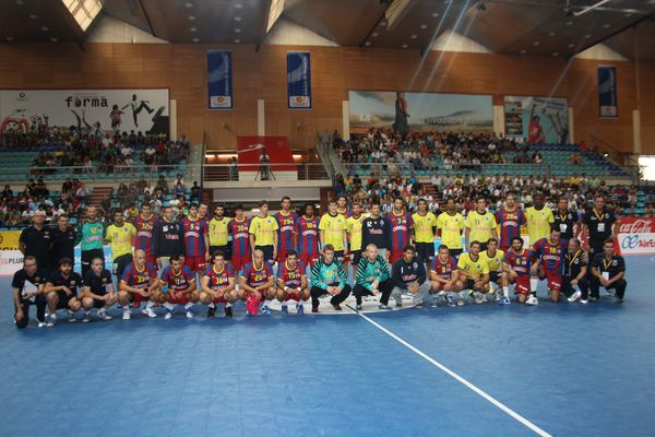 FC Barcelona : FC Porto - Torneio Ibérico (foto: Luis Xavier)