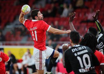 SL Benfica : AA Avanca - Campeonato Andebol 1 - foto: Pedro Alves