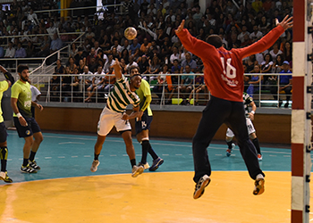 Campeonato Andebol 1 - Madeira SAD x Sporting CP - 4ª Jornada (Tony Cruz)