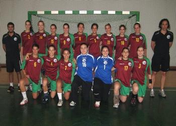 Selecção Junior B Fem - European Open 2010
