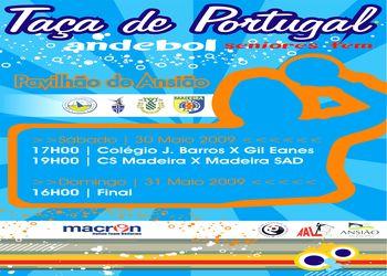 Cartaz Taça de Portugal Seniores Femininos - 30 e 31 de Maio, Ansião