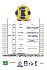 """Handball Project 2010 - Congresso Internacional """"Andebol: Um Passo para o Futuro"""""""