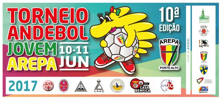 Cartaz 10º Torneio Andebol Jovem AREPA 2017
