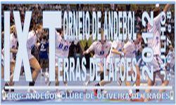 Cartaz IX Torneio de Andebol - Terras de Lafões 2012