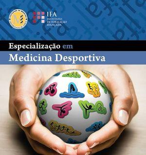 Cartaz Curso de Especialização em Medicina Desportiva