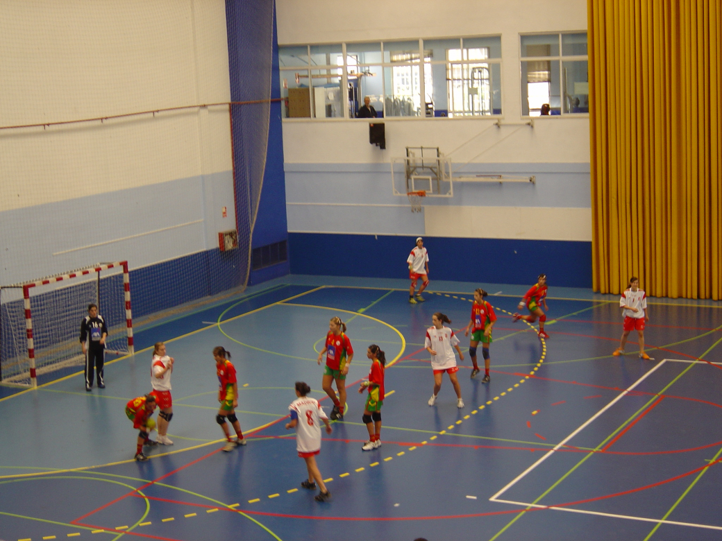 Juniores C Femininas - Portugal : Madrid - Torneio de Madrid