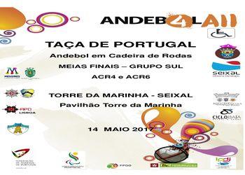 Cartaz Meias Finais das Taças de Portugal de ACR4 e ACR6 – Grupo Sul