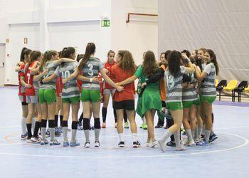 Almeida Garrett - CALE - Campeonato Nacional Juvenis Femininos 2016-2017 - foto: António Oliveira