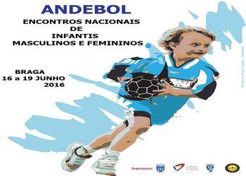 Cartaz Encontro Nacional de Infantis Femininos e Masculinos 2016